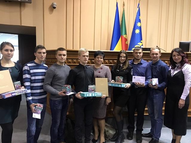 Нагородження найкращих студентів міста